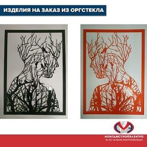 Изделия из оргстекла на заказ Москва